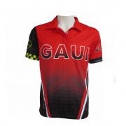 Customized Dry Fit Sublimation Bowling Shirt Golf Polo Shirt