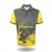 Breathable Dry Fit Sublimated Bowling Sportswear
